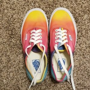 300d6622461f ... Sunset multicolor Vans ...